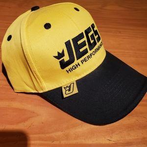 🏁Jegs Racing hat Mens/womens NWOT.